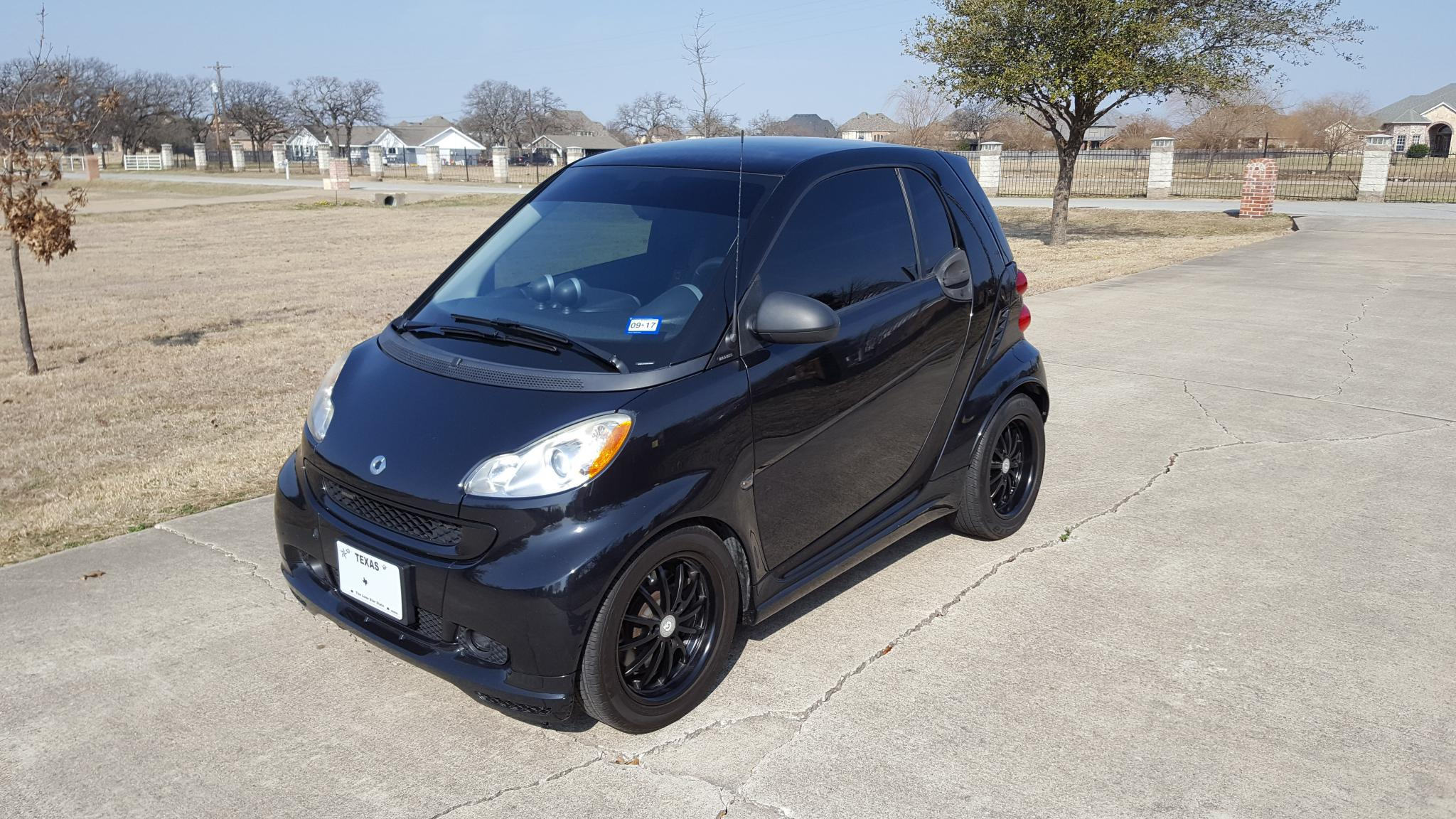 2009 Smart Car Fortwo Brabus Only 53k Miles 4995 Sold