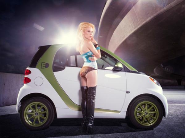 2012 Fuel Efficient Car Babes Calendar Smart Fortwo