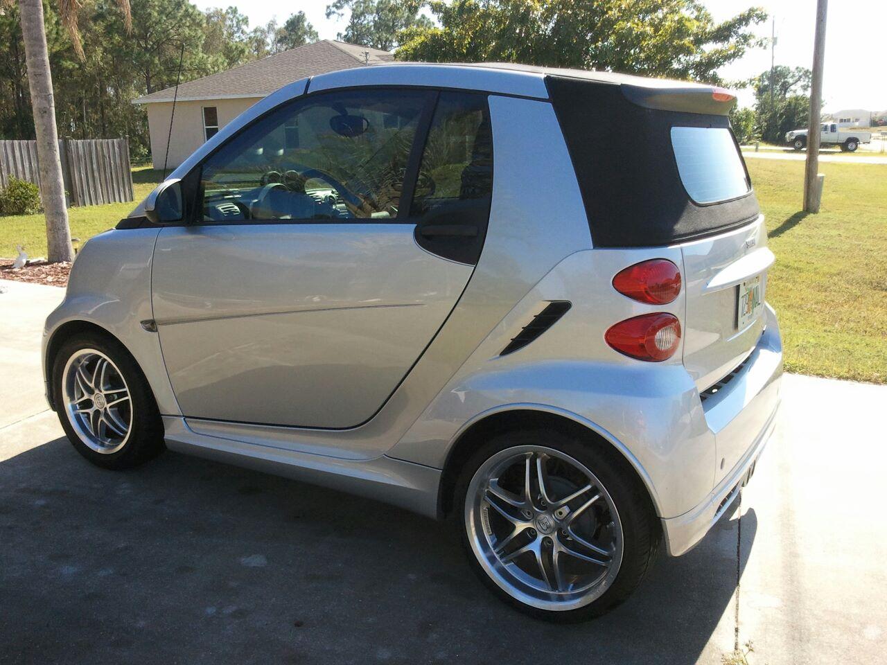 for sale 2009 smart brabus cabrio smart car forums. Black Bedroom Furniture Sets. Home Design Ideas