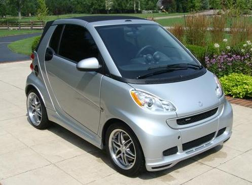 For Sale 2009 Smart Silver Brabus Fortwo Cabriolet