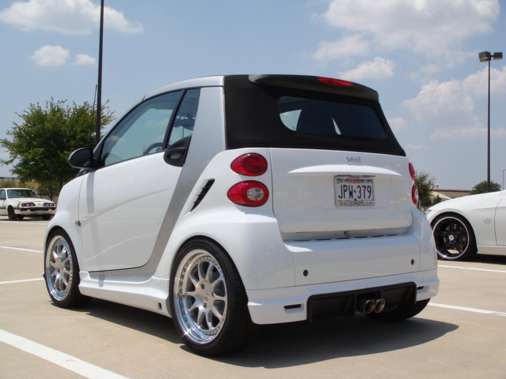modified smart 451 hre bodykit drop smart car forums. Black Bedroom Furniture Sets. Home Design Ideas