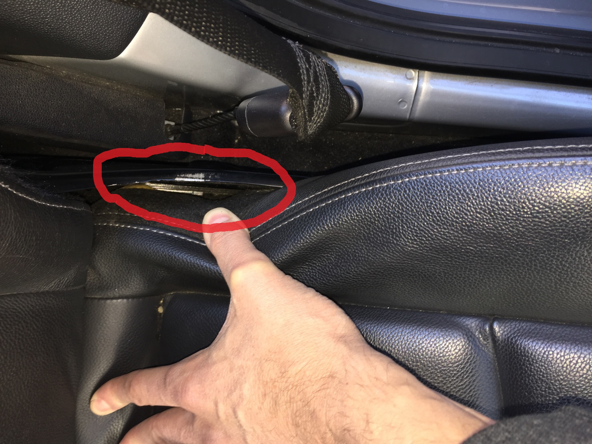 Driver Seat Rail Stuck All The Way Back Smart Car Forums