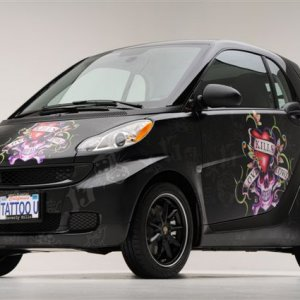 Ed Hardy Limited Edition Smart Fortwo