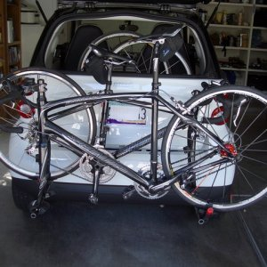 Bike Rack - Two Bikes