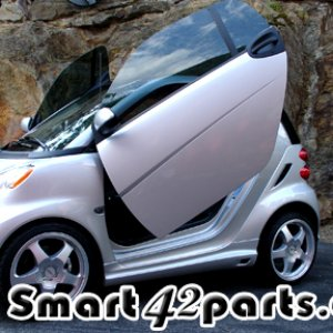 Smart Car 451 Fortwo Vertical Lambo Doors