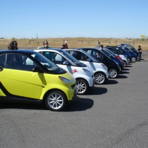 Sacramento's First Smart Car Rally Sunday, May 18 2008