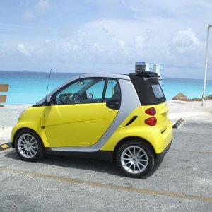 Renting A Smart In Cancun Mexico