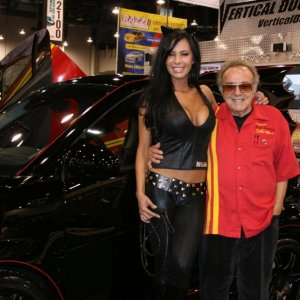 George Barris With The Batsmart
