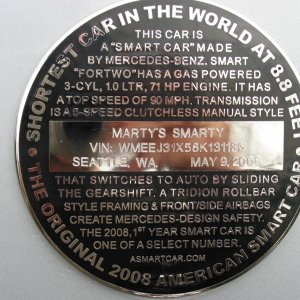 Marty's Smarty Medallions