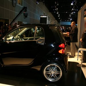 2009 Smart Fortwo Brabus Preview