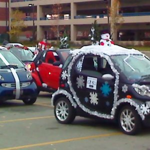 Boise Holiday Parade Staging Area