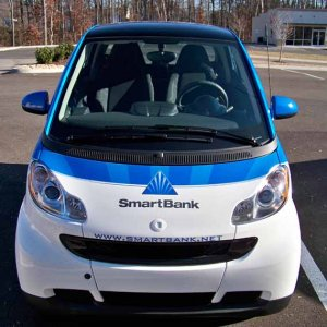 Smart Bank Car Front