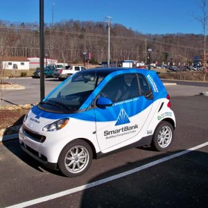 Smart Bank Car Wrap