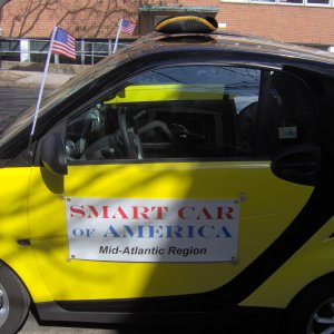 Mid Atlantic Smart Car Washington Birthday Parade, Alexandria Va Feb 16 09