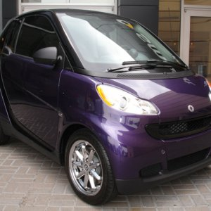 Custom Purple Smart Center Dallas