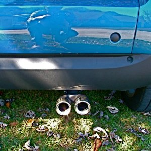 New Smart Exhaust Tip
