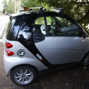 Smart Passion With Yakima Roof Rack