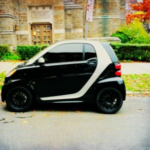 Blacked Out Smart!