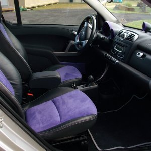 New Purple Seat Inserts
