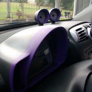 New Purple Seat Inserts/minor Dash Paint