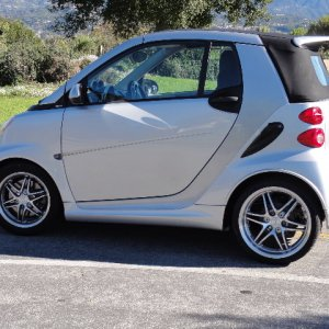 2009 Smart Fortwo Brabus Cabriolet