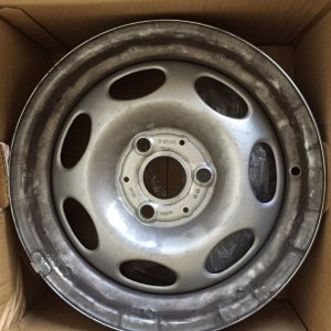 Oem Rear Wheel 2011 Fourtwo