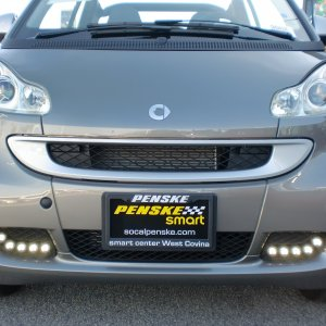 2012 Smart Passion Cabriolet With Led Daytime Running Lamps