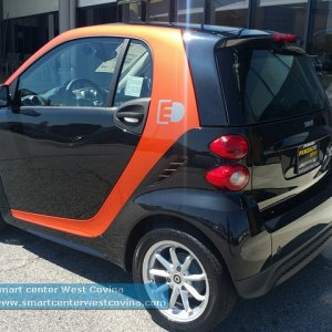 2016 Smart Fortwo Flashlight Edition (limited Availability)