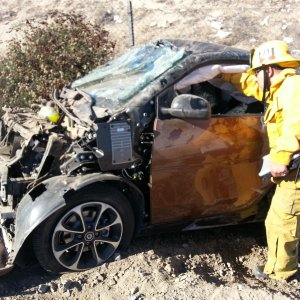 2016 Smart Fortwo (453 Smart) Accident