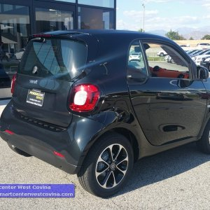 Smart Fortwo Passion Blk-orange Interior