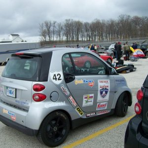 Smart In 2008 Cannonball Run