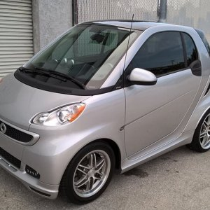 My 2013 Smart Fortwo Passion Brabus