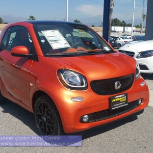Lava Orange Smart Center West Covina