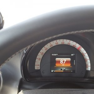 Driving Smart Brabus 453 At Speed