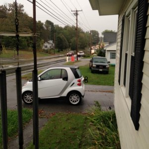 My Smart Car Makes Everybody Smile- Coming And Going!