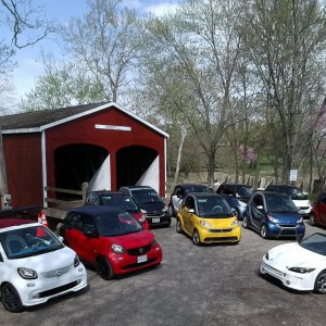 Ohio Smart Car April 2019 Rally Drone Photo By Bailey451