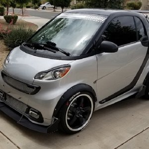 Another Way To Destroy A Smart Car