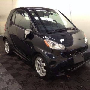 My Smart on delivery Sept 2017 Damage visible