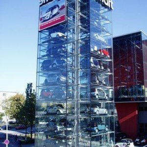 Smart Cars tower