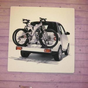 Bike Rack wall art