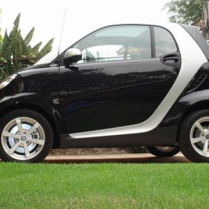 My Black Fortwo