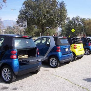 Smartie Drive-up To The Rose Bowl