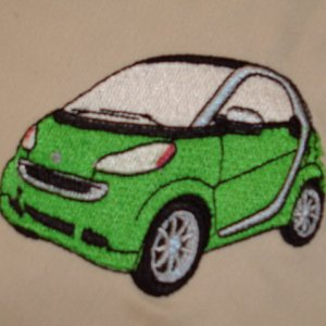 Green Smart Car Sewed Up