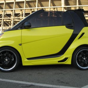Smart Madness Demo Car