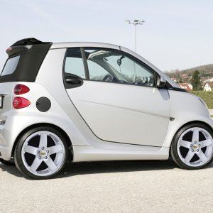 Great Looking Wheels On The Smart Fortwo